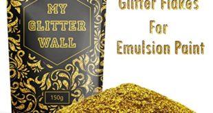 goldener wandglitzer fuer dispersionsfarbe 150 g fuer den innen und aussenbereich 310x165 - Goldener Wandglitzer für Dispersionsfarbe, 150 g, für den Innen- und Außenbereich