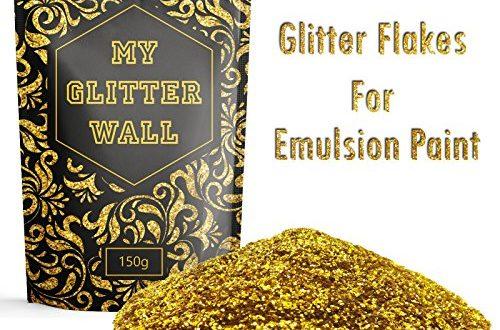 goldener wandglitzer fuer dispersionsfarbe 150 g fuer den innen und aussenbereich 500x330 - Goldener Wandglitzer für Dispersionsfarbe, 150 g, für den Innen- und Außenbereich
