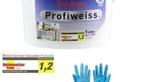 Einfach Schoener Profiweiss Innenwandfarbe Dispersionsfarbe von E Com24 1 Liter 310x165 - Einfach Schöner Profiweiss Innenwandfarbe Dispersionsfarbe von E-Com24 (1 Liter)