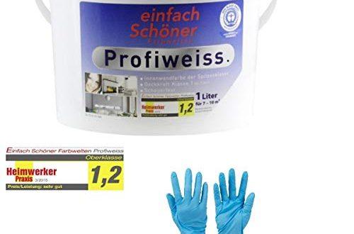 Einfach Schoener Profiweiss Innenwandfarbe Dispersionsfarbe von E Com24 1 Liter 500x330 - Einfach Schöner Profiweiss Innenwandfarbe Dispersionsfarbe von E-Com24 (1 Liter)
